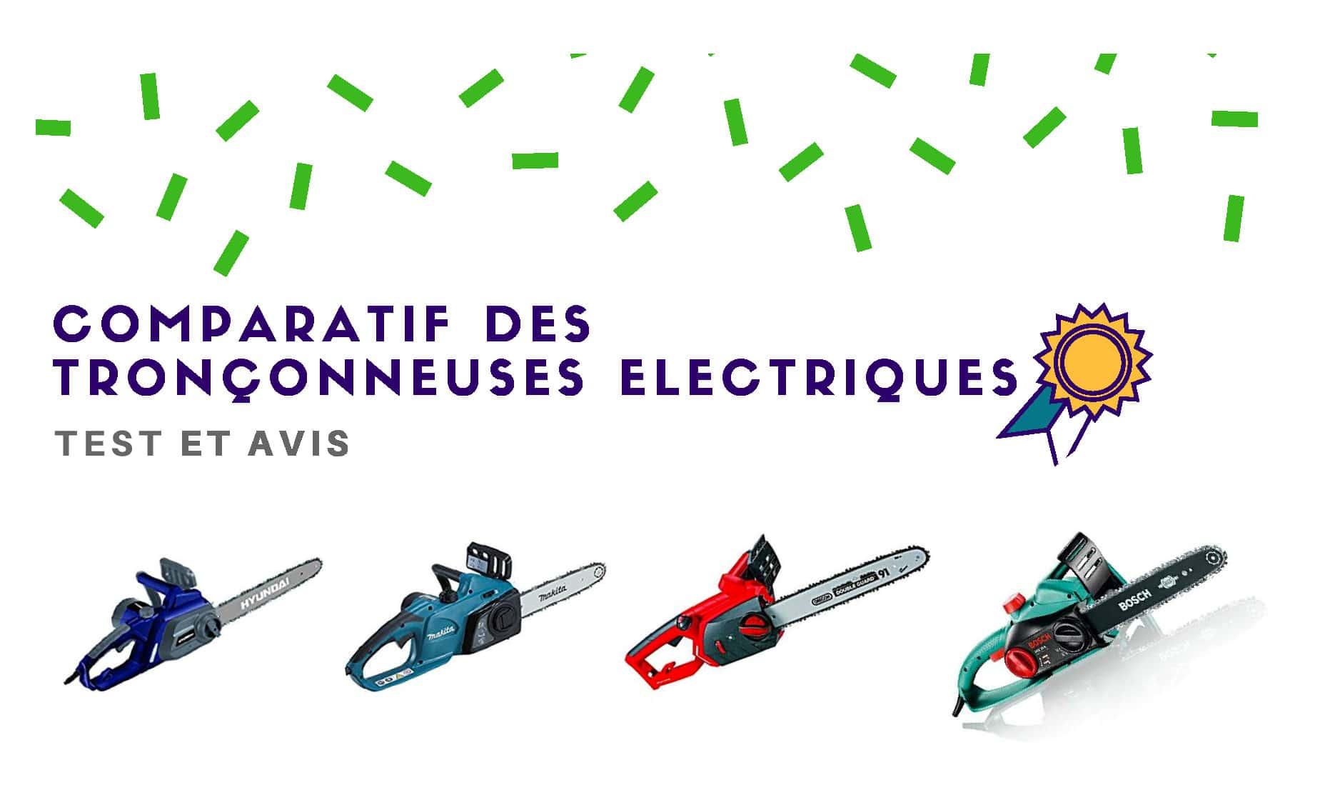 tronconneuse electrique