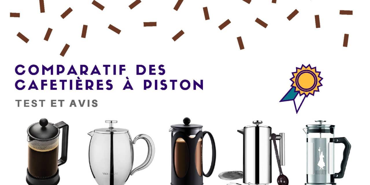 Cafetière à piston : Comparatif des meilleurs modèles 2019