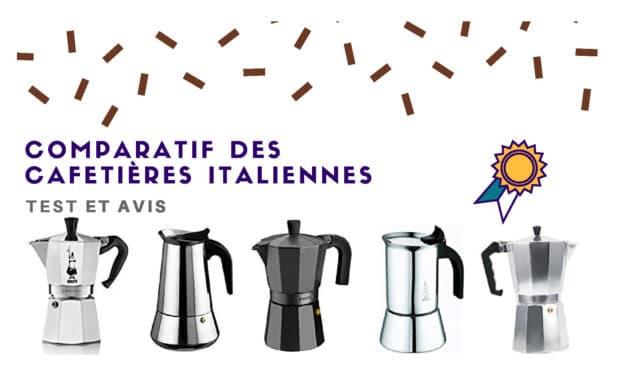 Cafetière Italienne : Comparatif des meilleurs modèles 2019