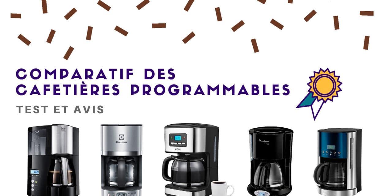 Cafetière programmable : Comparatif des meilleurs modèles 2019