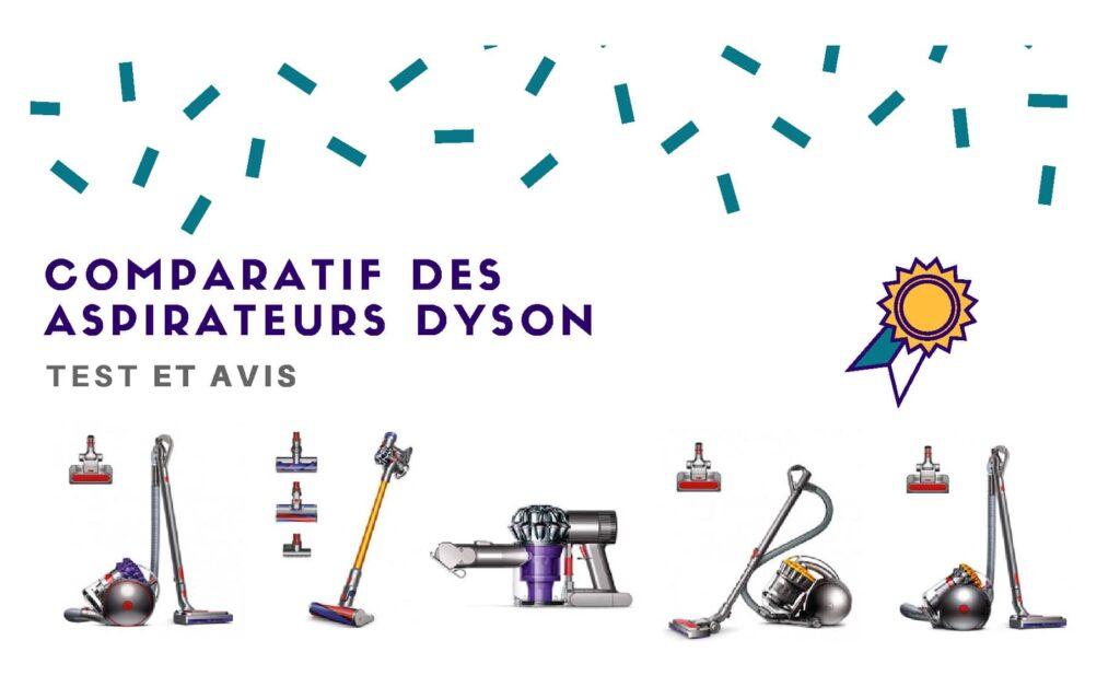 comparatif aspirateur dyson