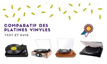 Platine vinyle : Comparatif des meilleures références
