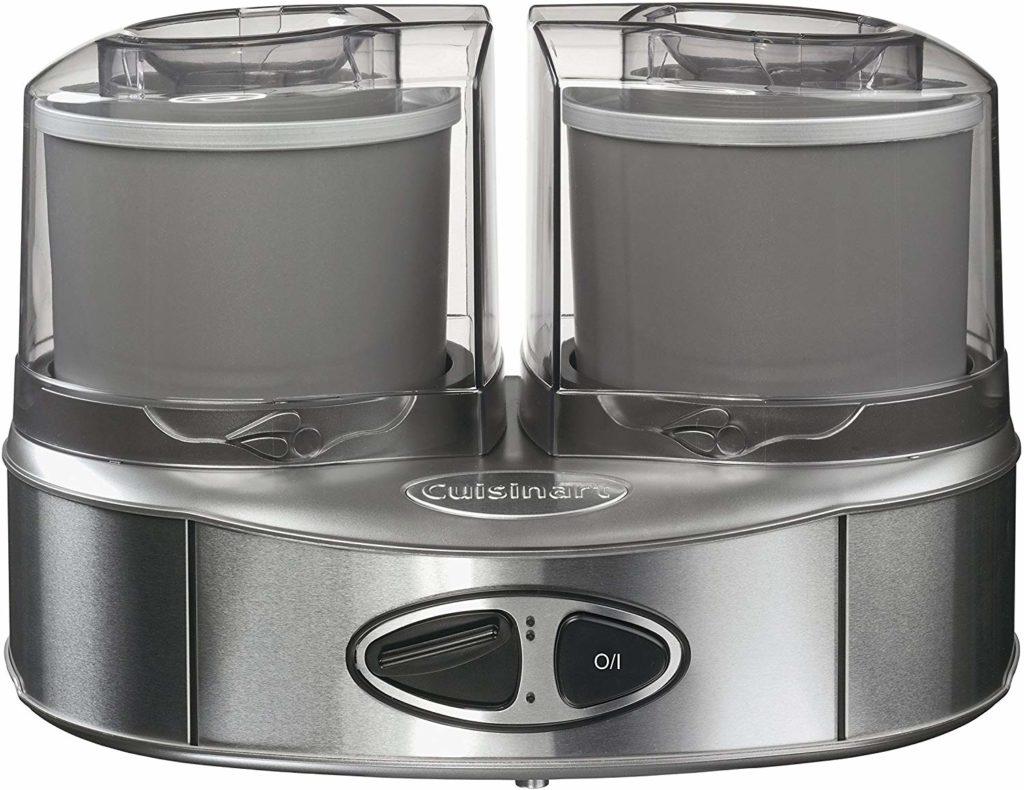 Cuisinart ICE40BCE Sorbetière Machine à glace Duo