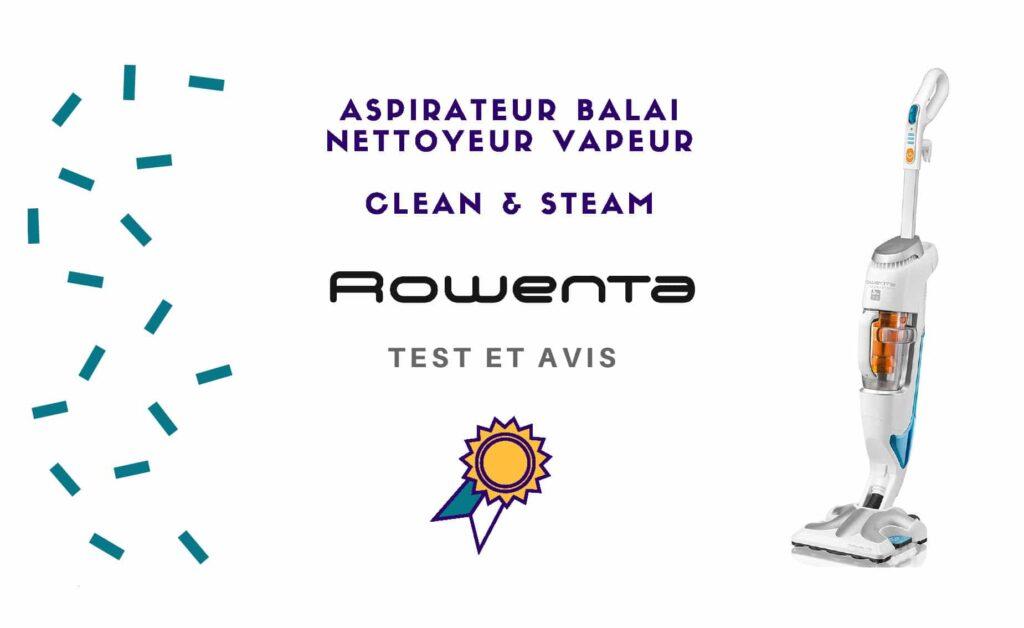 clean and steam rowenta