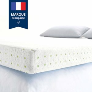 viscosoft Surmatelas Mémoire de Forme 5cm avec Aération Optimale