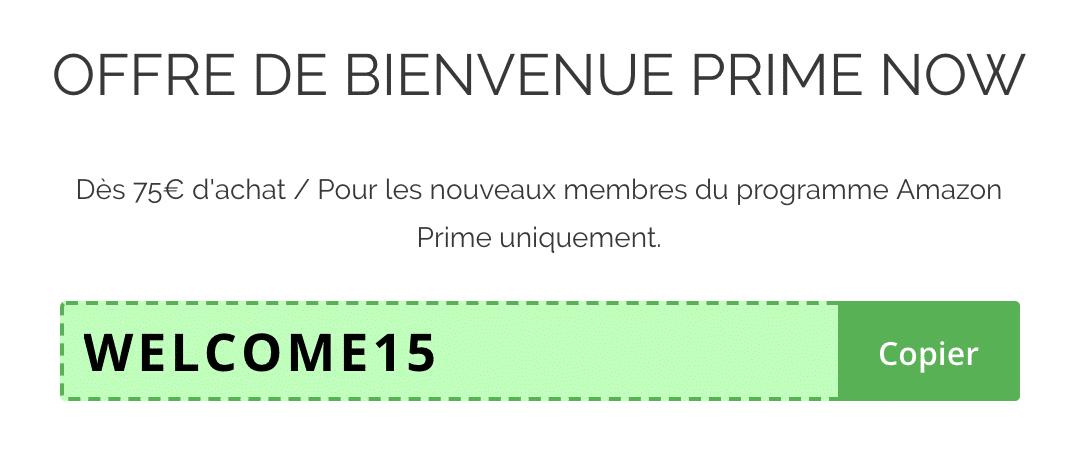 code promo amazon prime