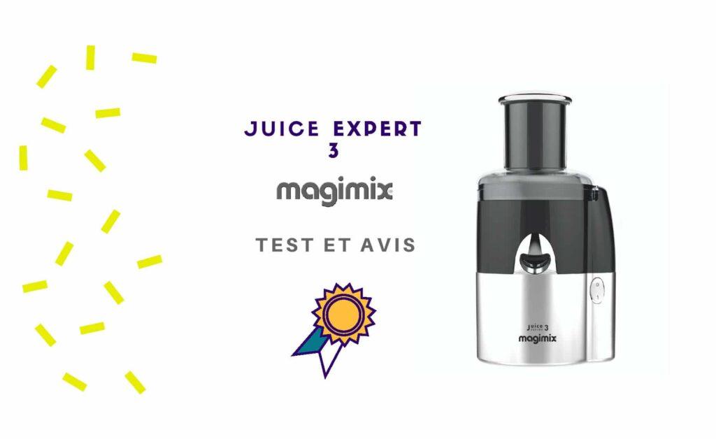 extracteur de jus magimix test
