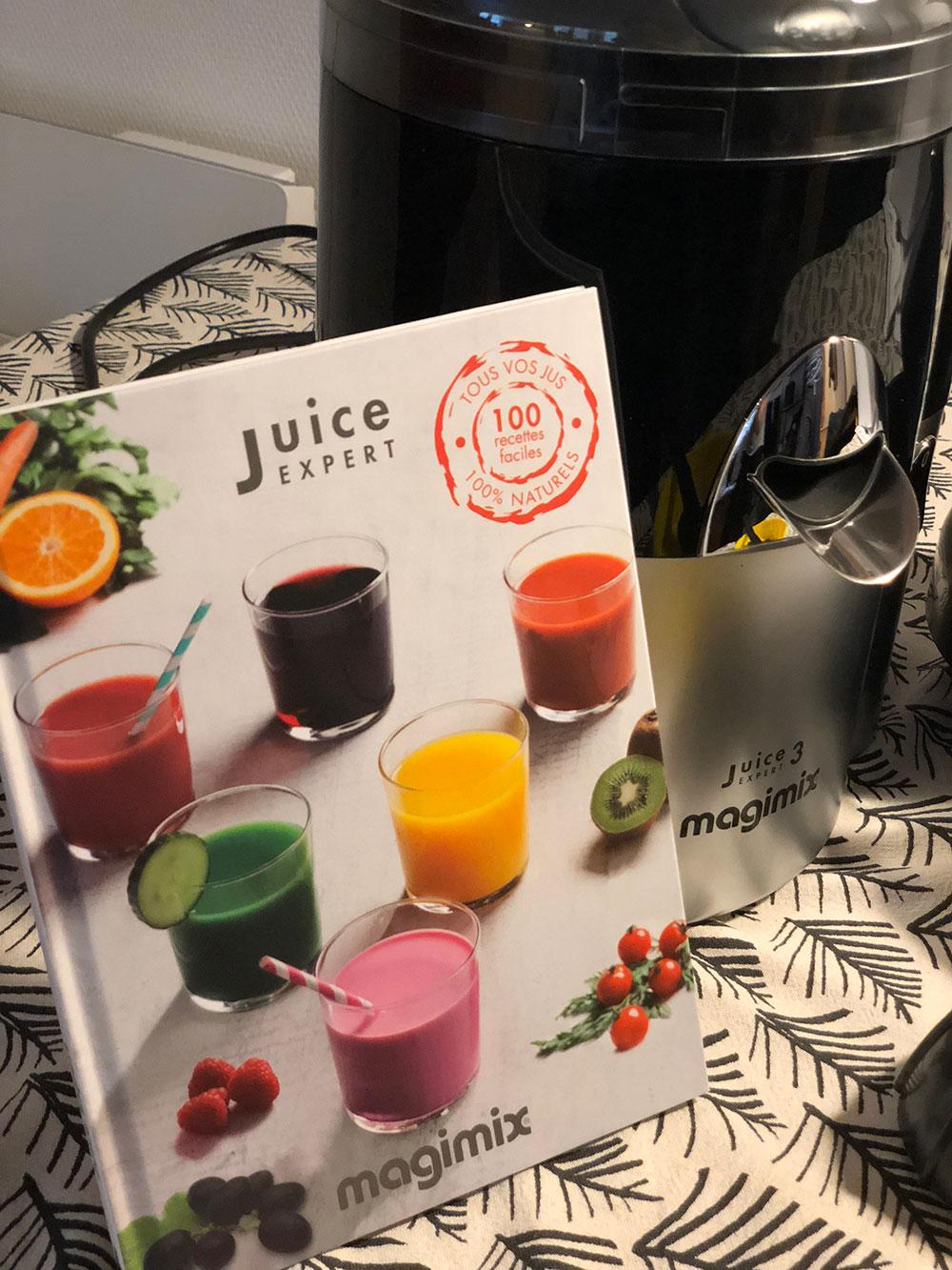 juice expert magimix recettes