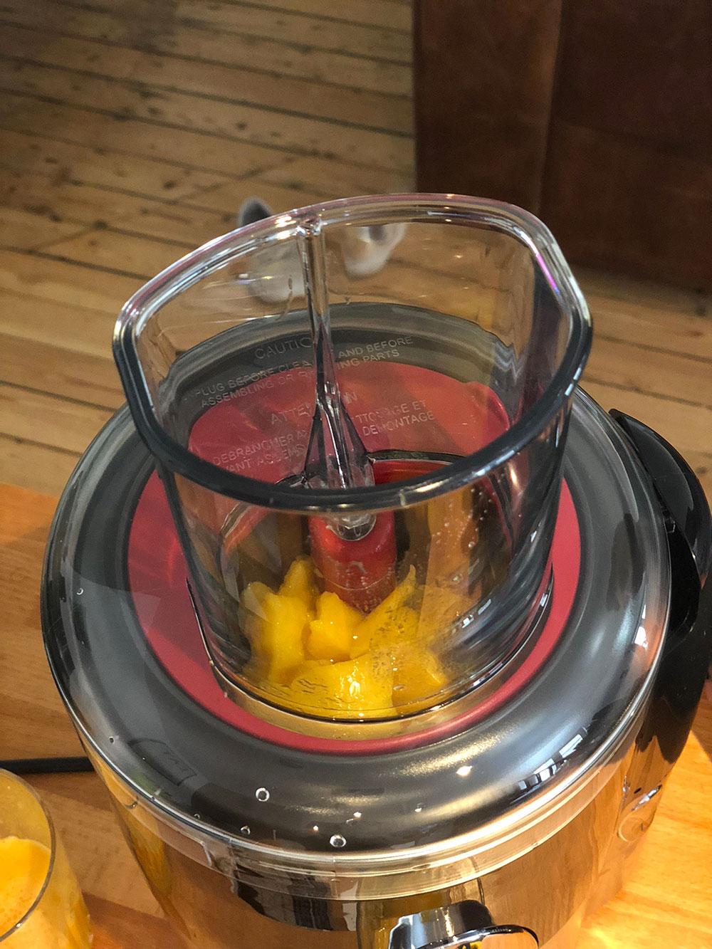 jus de mangue magimix juice expert