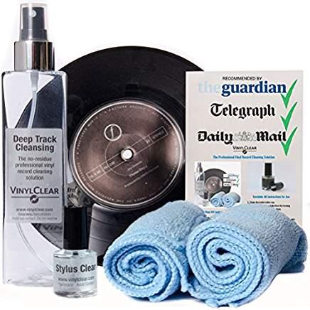 kit de nettoyage vinyle
