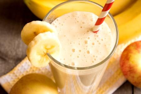 sorbet banane extracteur de jus