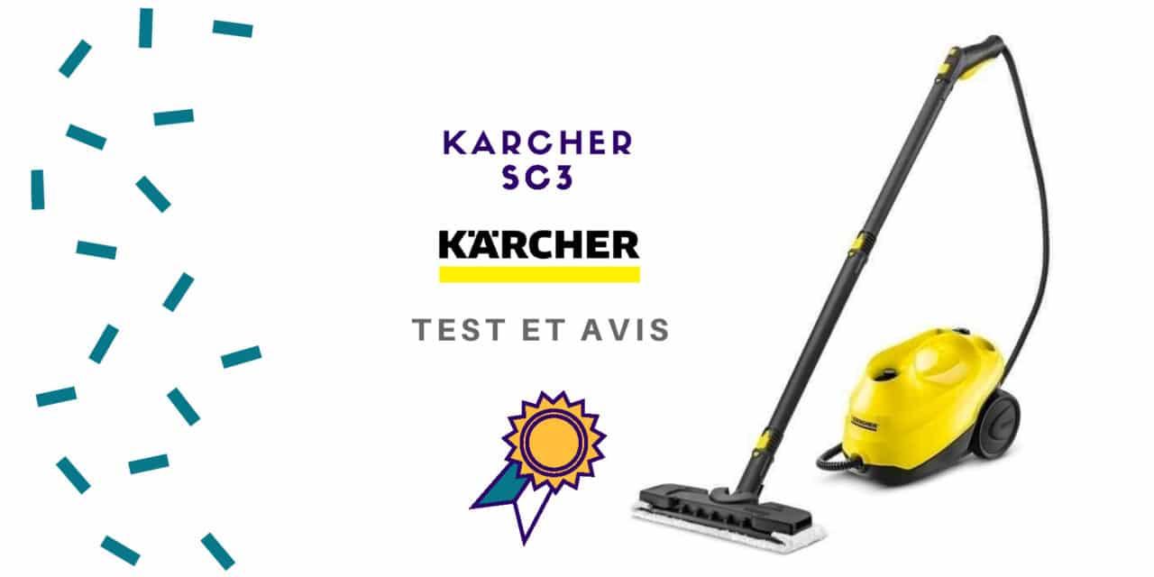 Karcher SC3 : Test et Avis de ce nettoyeur vapeur