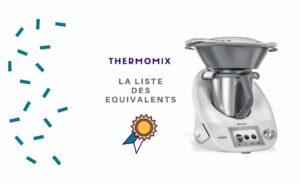 Quels équivalents au Thermomix ? TOP 4 des meilleurs robots de cuisine
