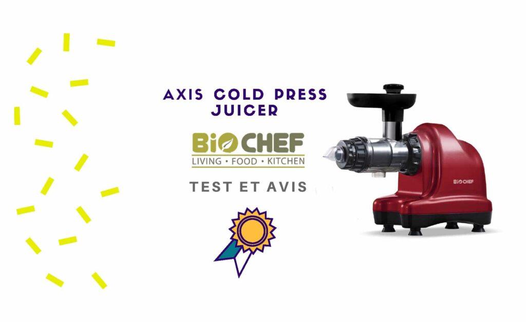 biochef axis cold press