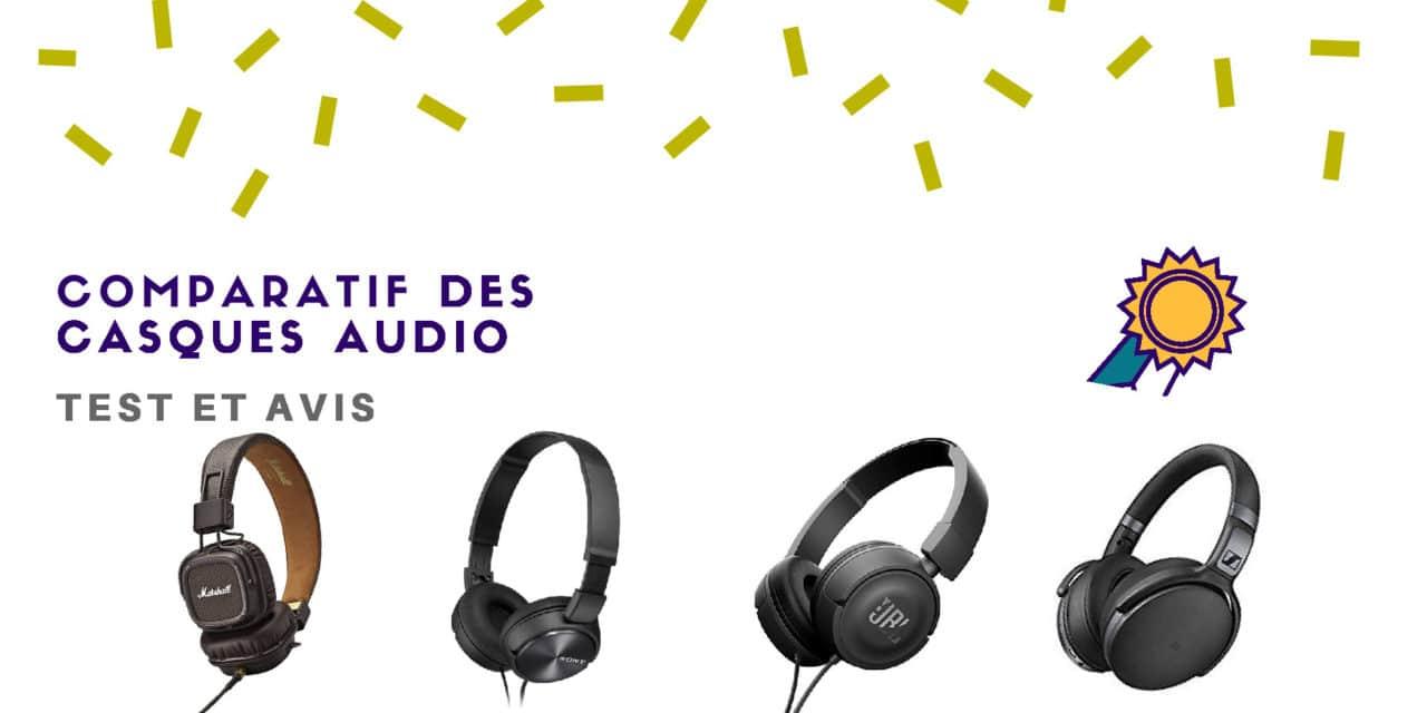 Casque Audio – Comparatif et avis des meilleurs modèles en 2019