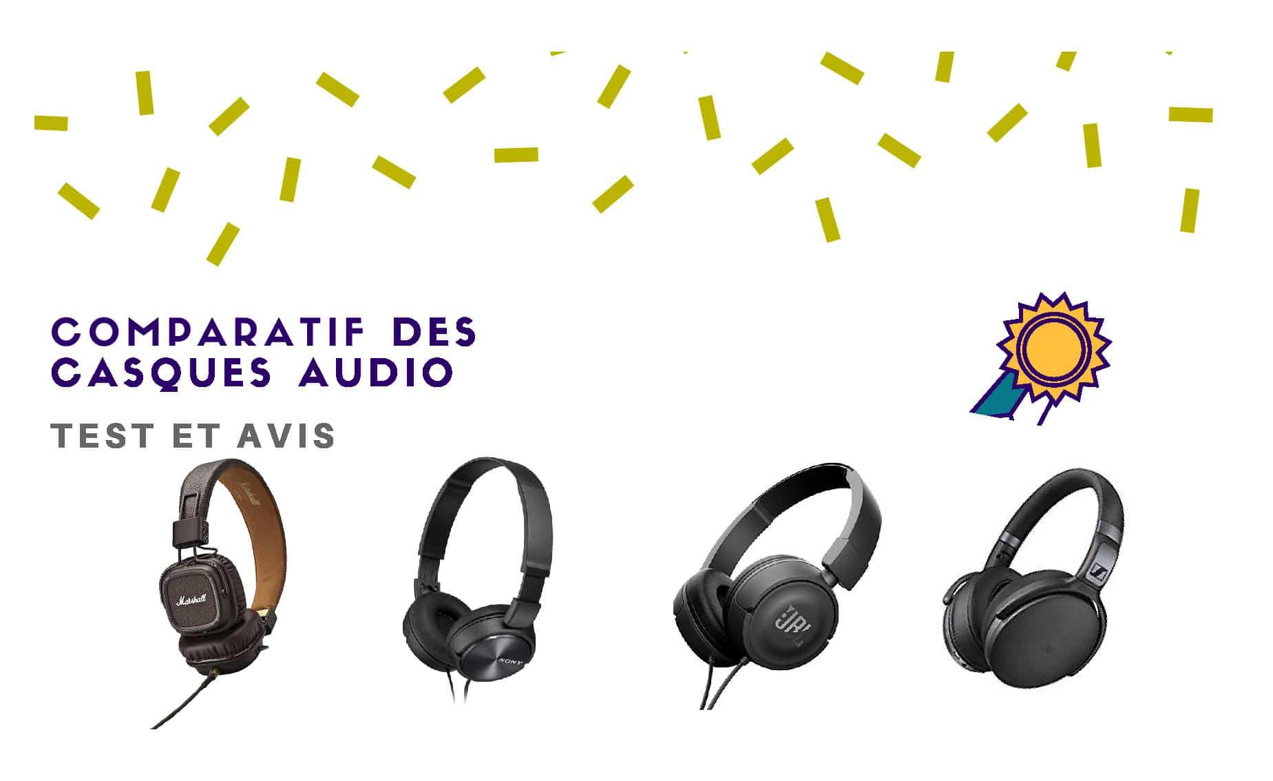 bon casque audio filaire musique