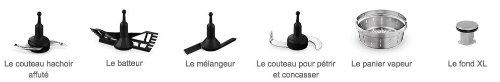 accessoires vendus avec companion