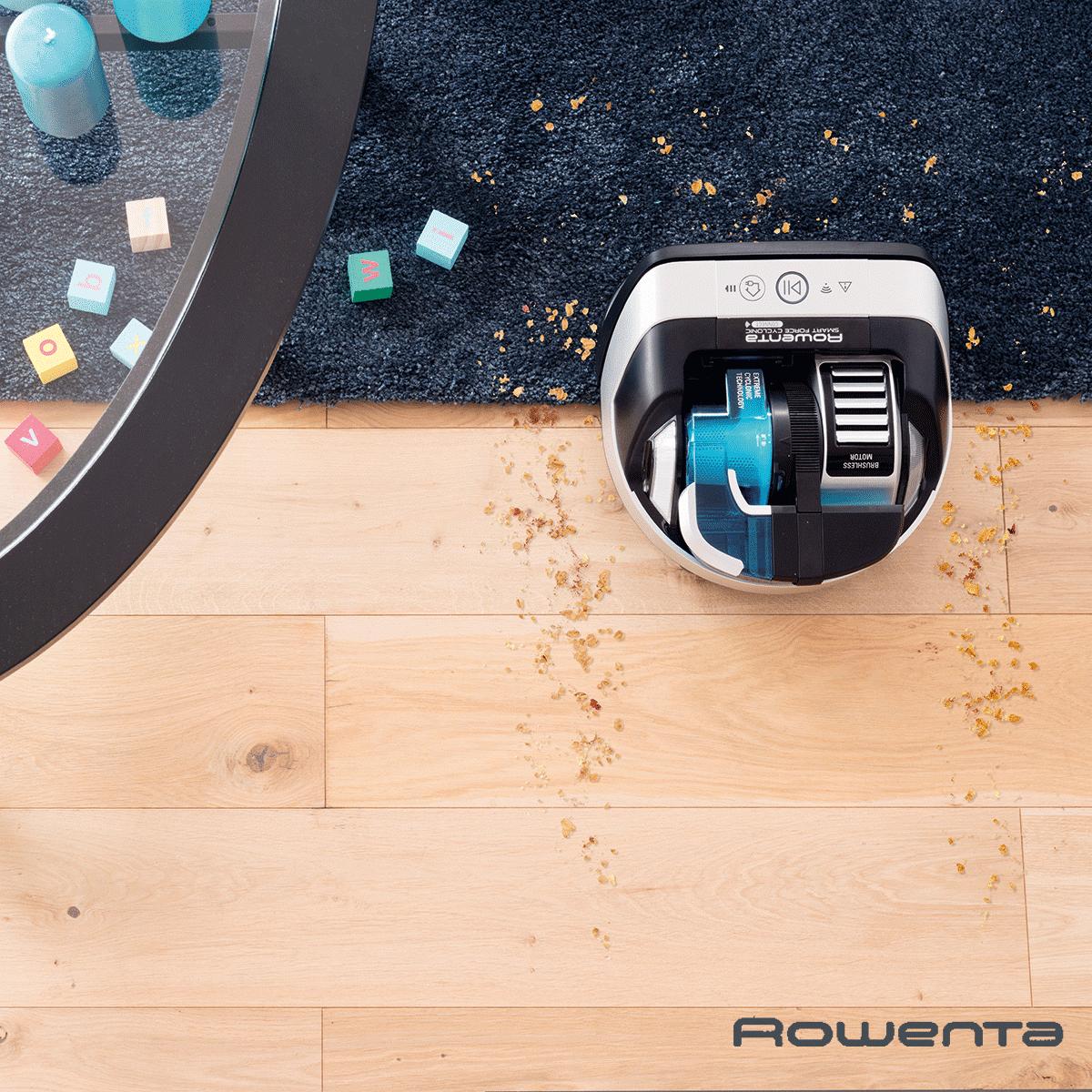 aspirateur robot rowenta