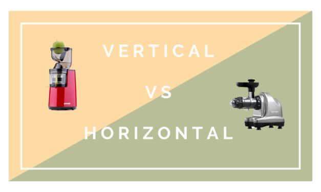 Extracteur de jus : horizontal ou vertical ?