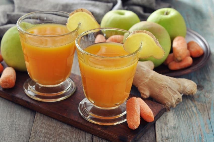 recette jus de pomme avec extracteur