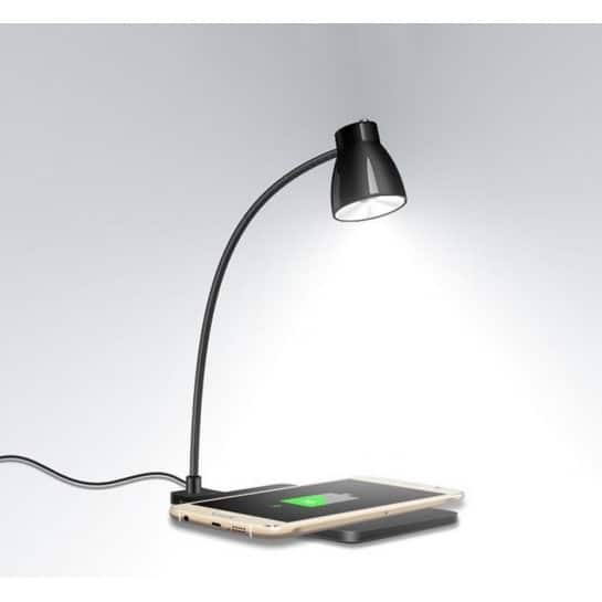 Station d'accueil charge sans fil lampe de chevet pour Android