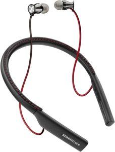 Sennheiser Momentum Micro-casque Intra-auriculaire sans fil Noir:Rouge