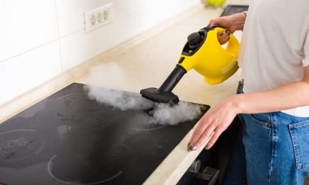 La fonction aspirante sur le nettoyeur vapeur