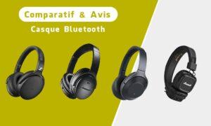 Casque Bluetooth : Le comparatif des meilleurs casques