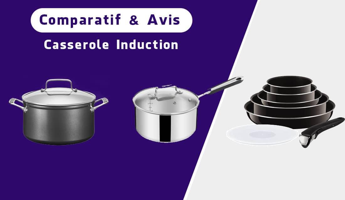 Quelles casseroles sur l'induction? Notre sélection des meilleures références