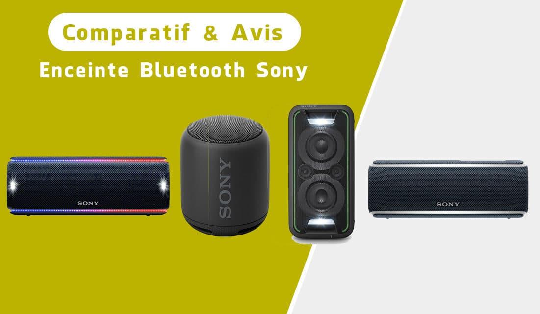 Enceinte bluetooth Sony : comparatif et avis des meilleurs modèles