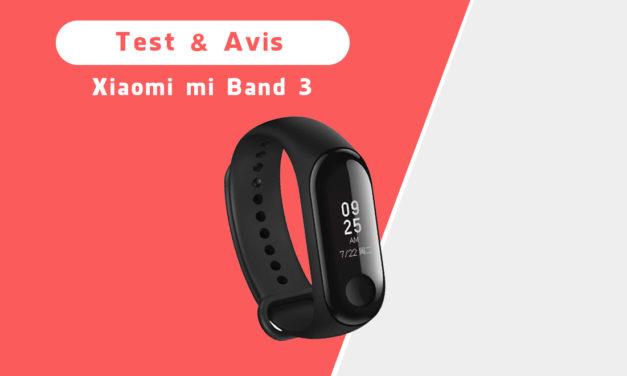 Xiaomi mi band 3: notre test et avis sur ce bracelet connecté