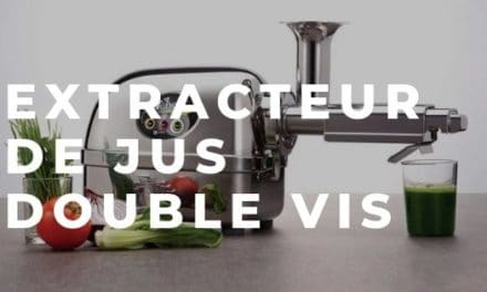 Extracteur de jus double vis
