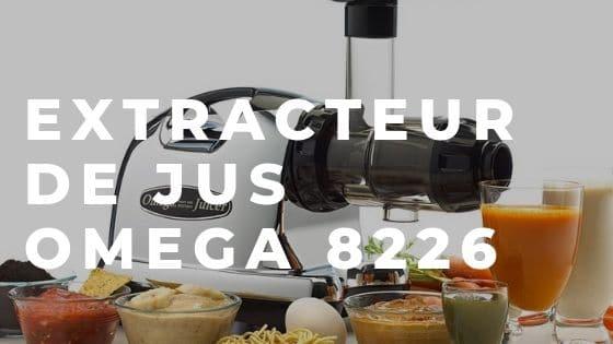 Extracteur de jus Omega 8226