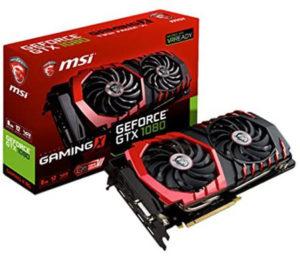 Carte Graphique MSI GeForce GTX 1080