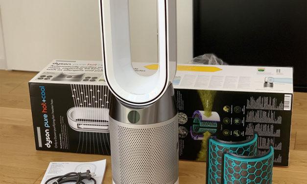 Test et Avis sur le ventilateur Dyson Pure Hot + Cool