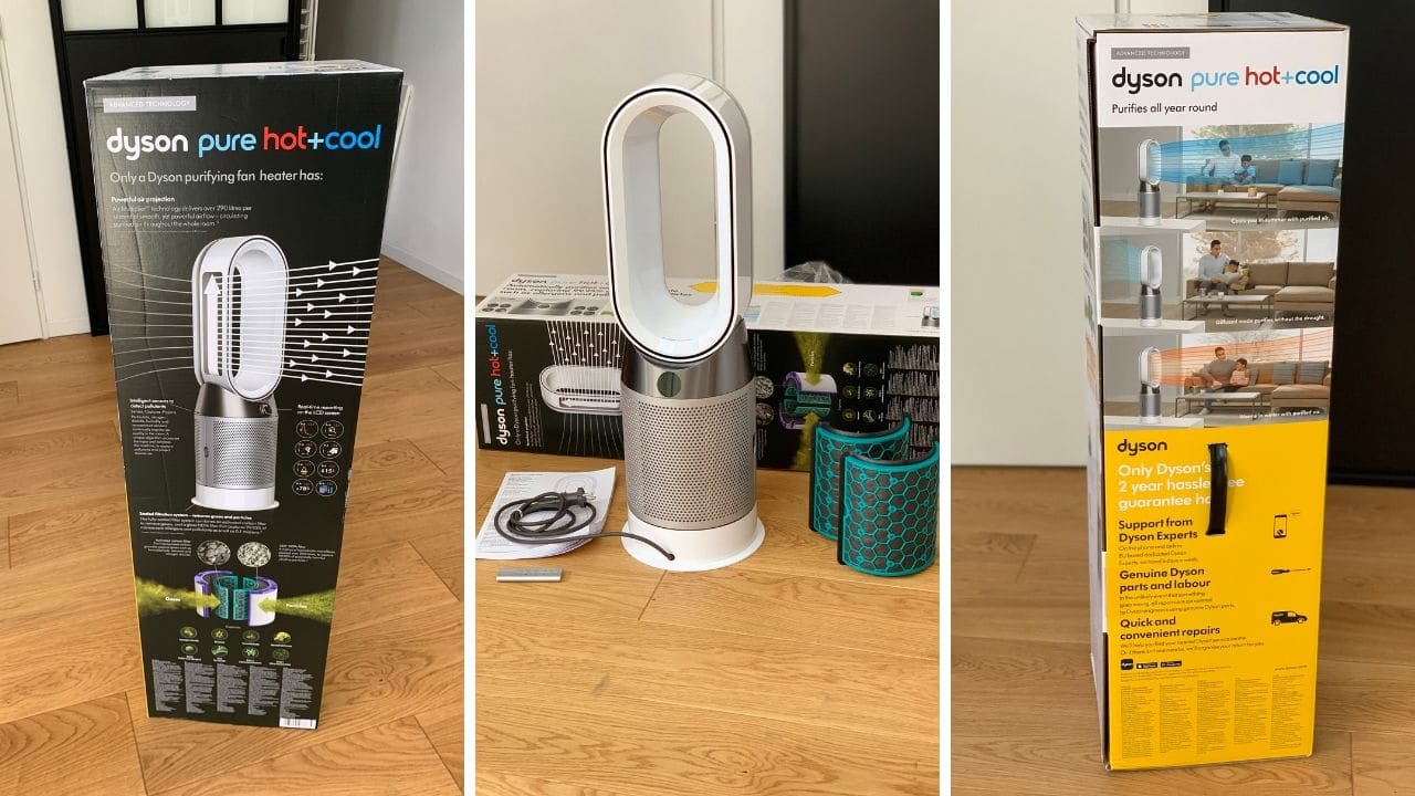 test ventilateur dyson purificateur
