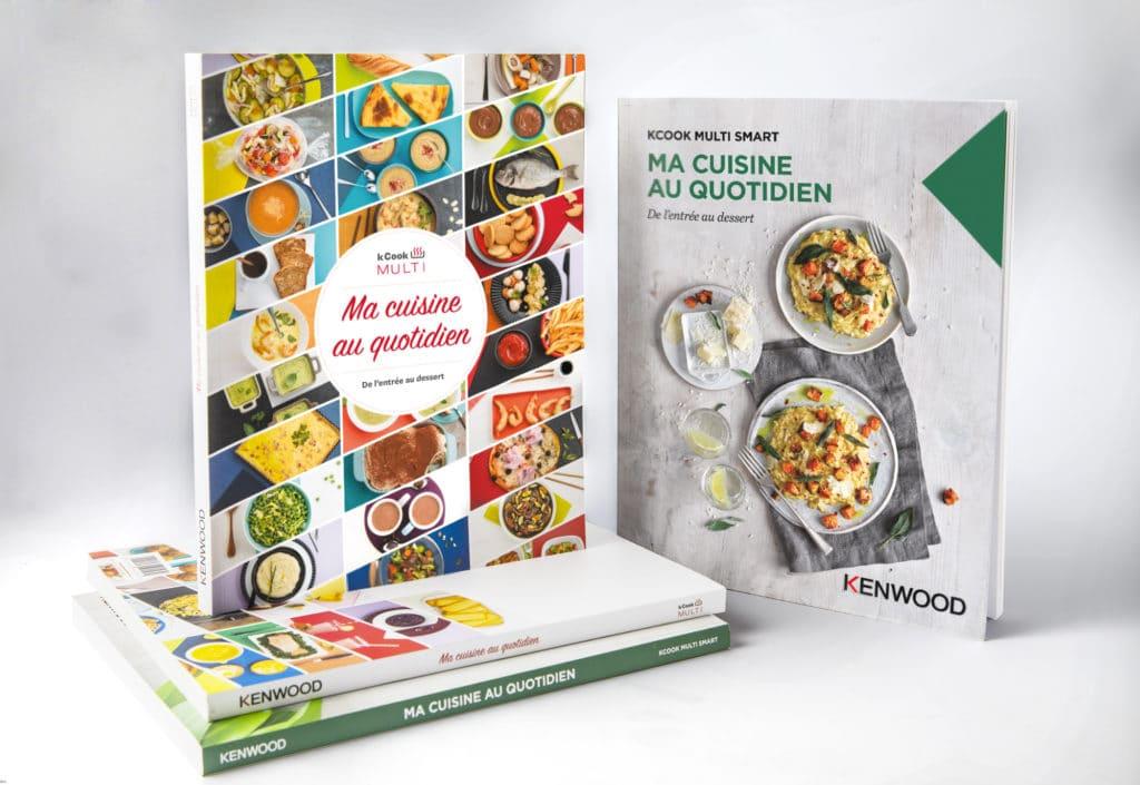 livre recettes kcook
