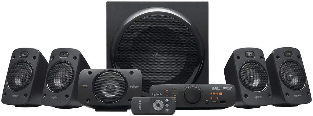 avis home cinema Logitech Z906