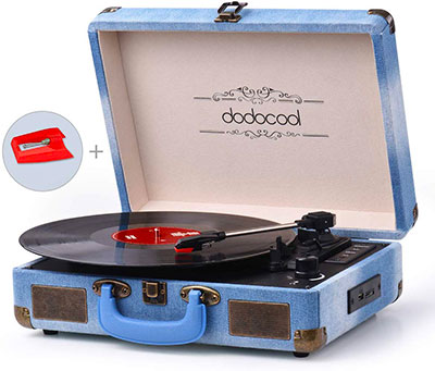 platine vinyle bluetooth dodocool