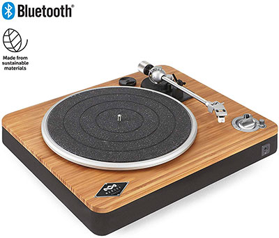 platine vinyle bluetooth House of Marley Stir It Up
