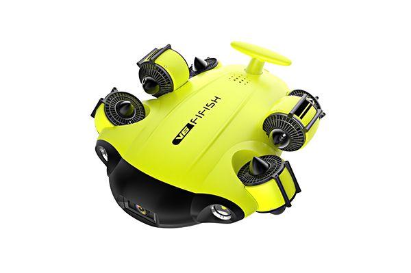 drone sous marin 4k fifish v6