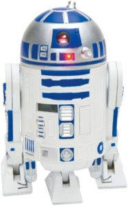 radio reveil projecteur star wars r2d2