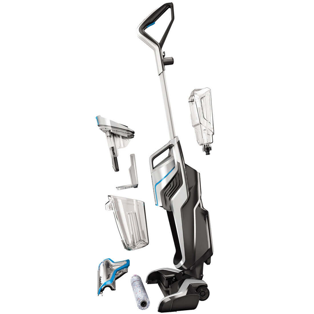 bissell crosswave cordless montage