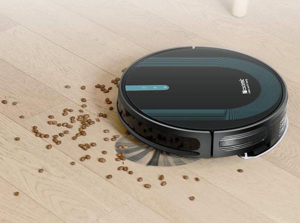 aspirateur robot proscenic café