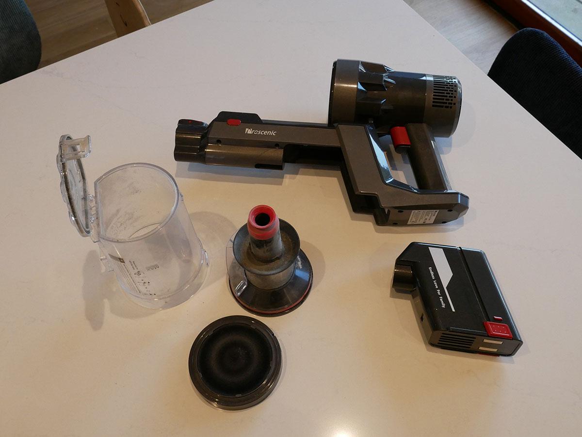 demontage aspirateur proscenic p11