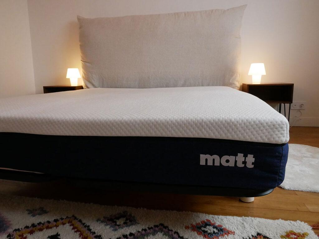 matt sleep épaisseur test