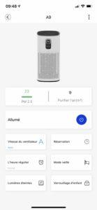 application mobile proscenic a9