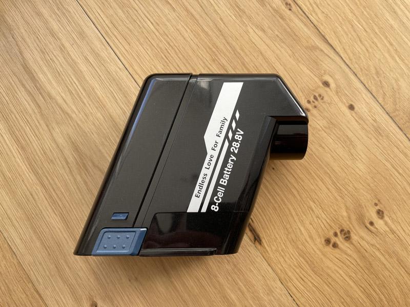 proscenic p10 pro batterie