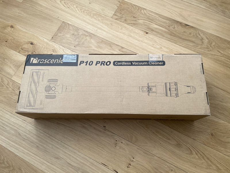 proscenic p10 pro unboxing